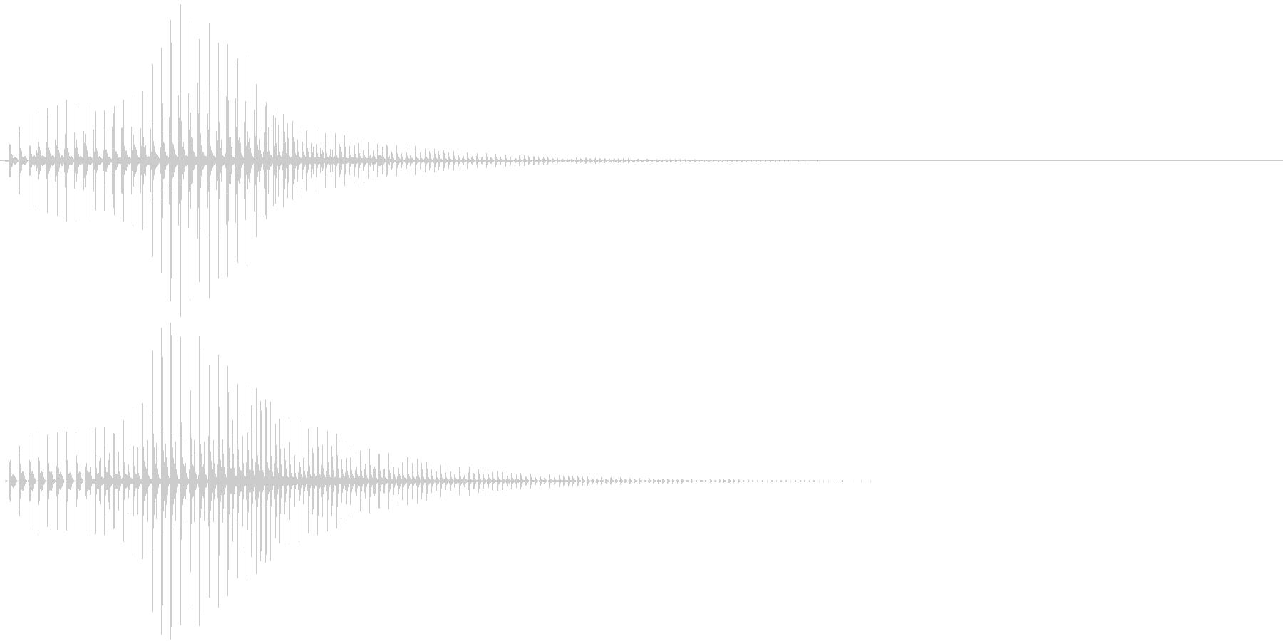 SF CinemaFX 未来の武器の音の未再生の波形