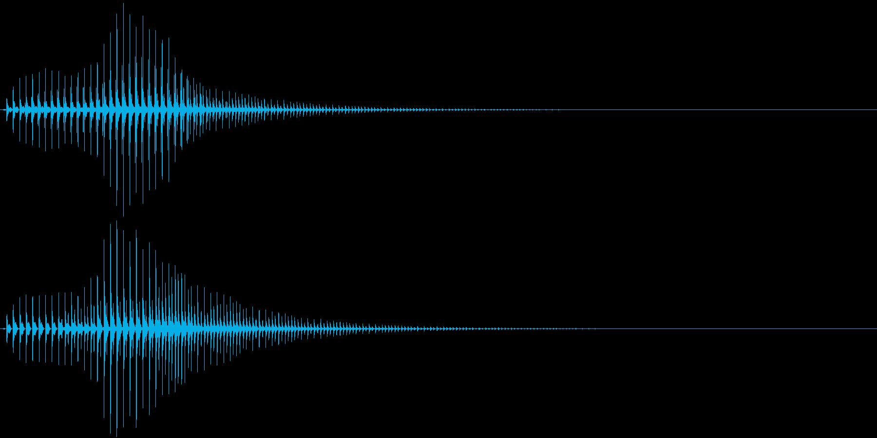 SF CinemaFX 未来の武器の音の再生済みの波形