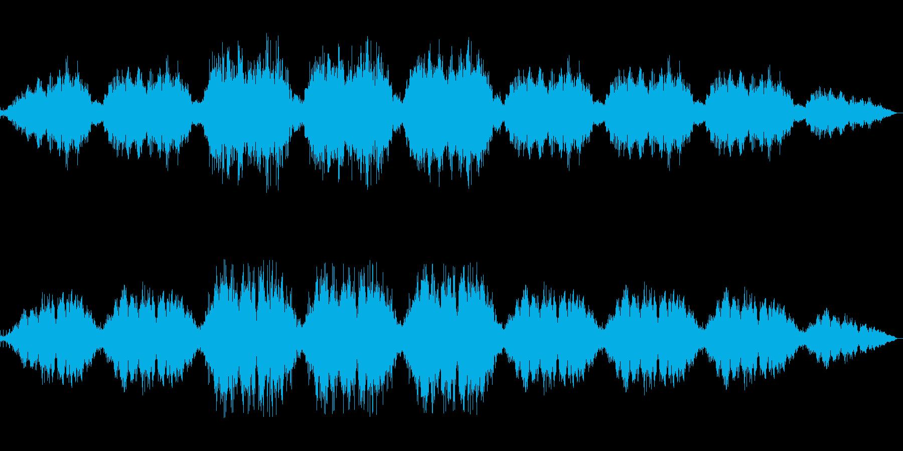【和声+パーカッション】静かなBGMの再生済みの波形