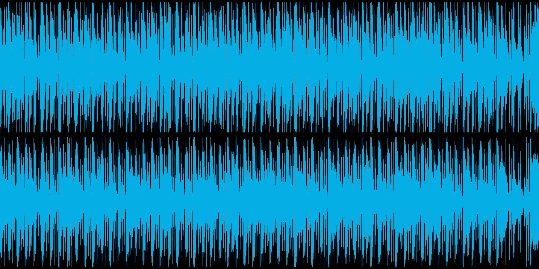 [ループ]ダンスミュージック1 30秒の再生済みの波形