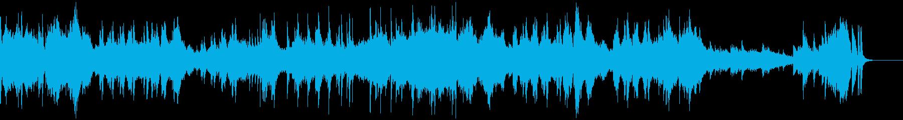 エチュード「革命」(ピアノ)の再生済みの波形