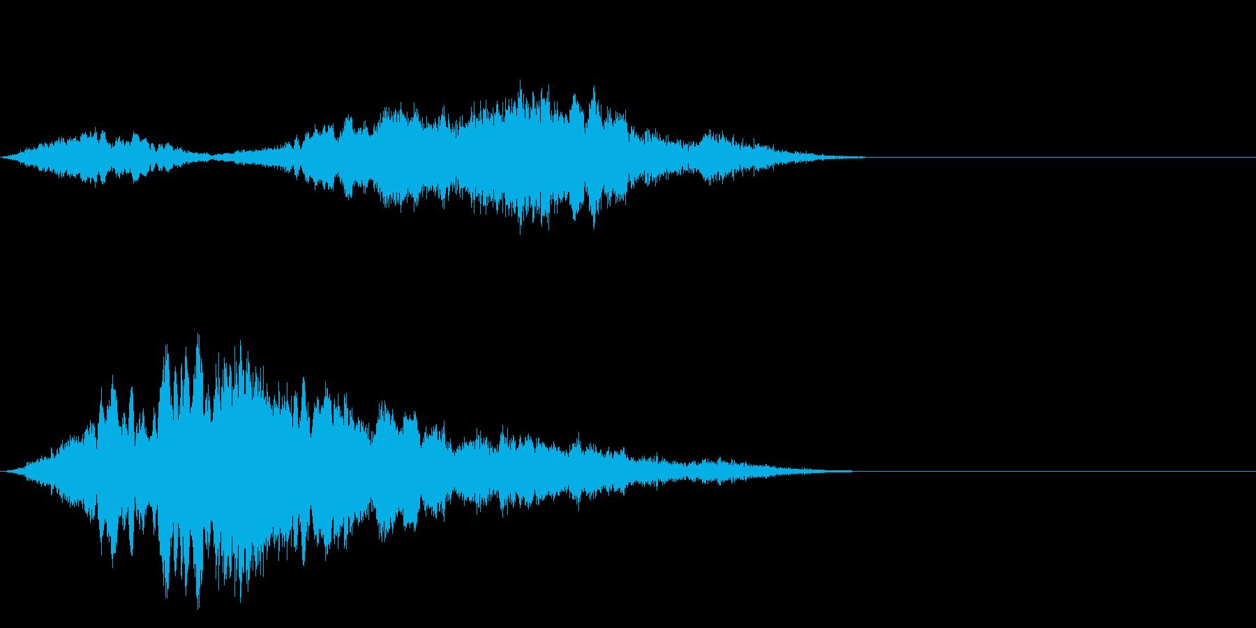 F1などのレース、エンジン音に最適18!の再生済みの波形