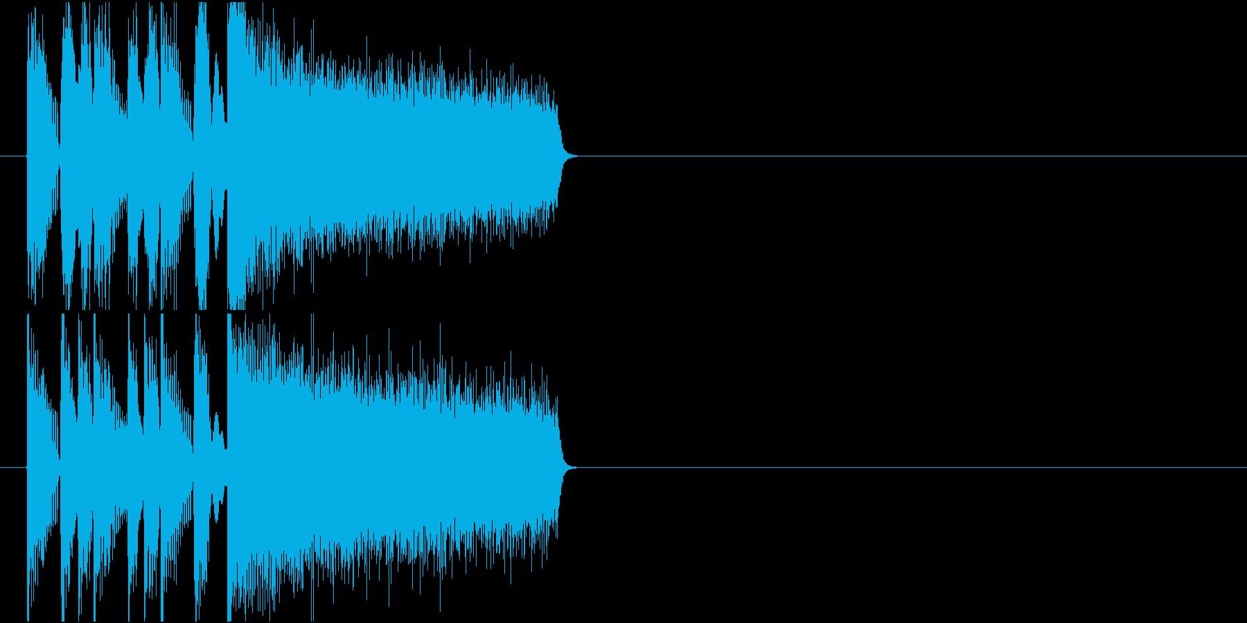 コミカル おちゃらけ コント クイズの再生済みの波形