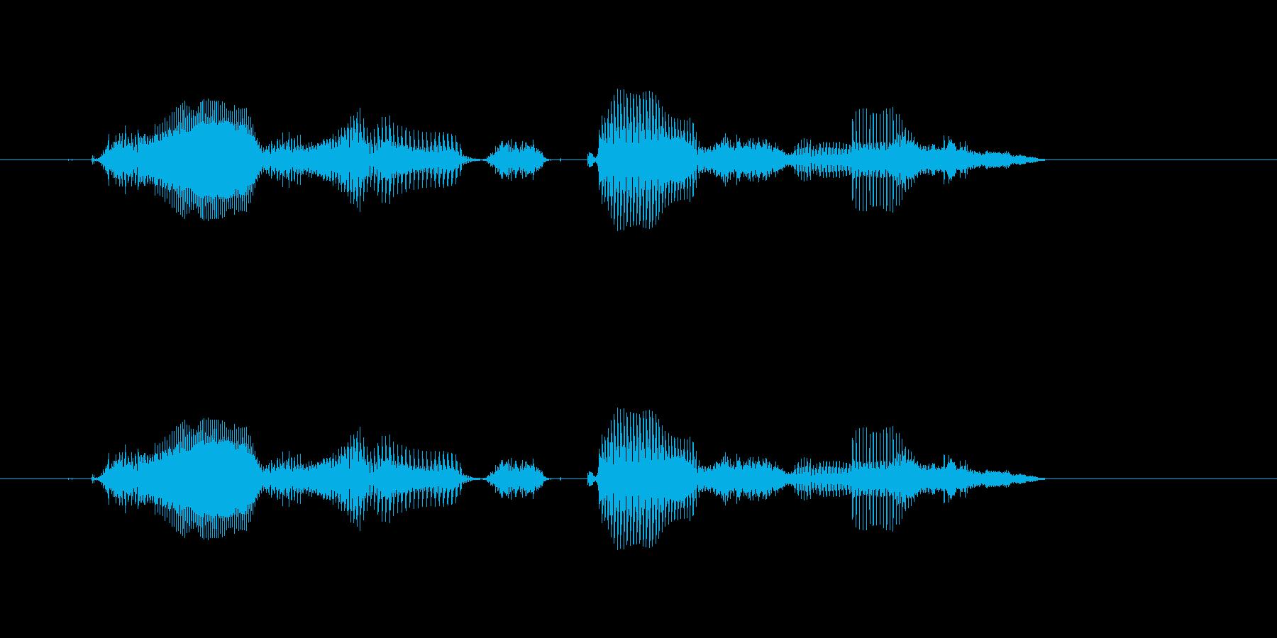 【時報・時間】10時をお伝えしますの再生済みの波形