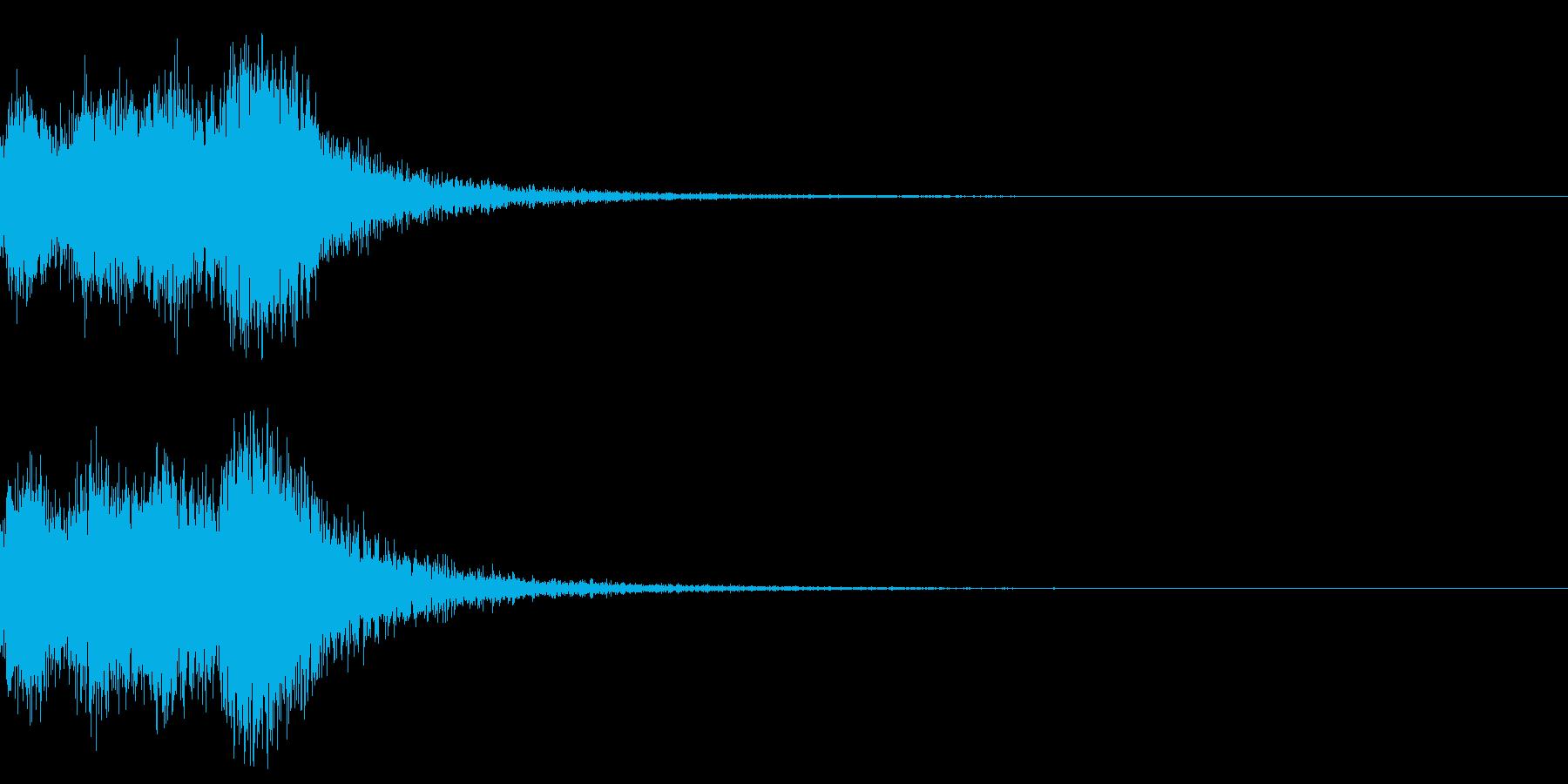 オーケストラヒット ジングル! 03bの再生済みの波形
