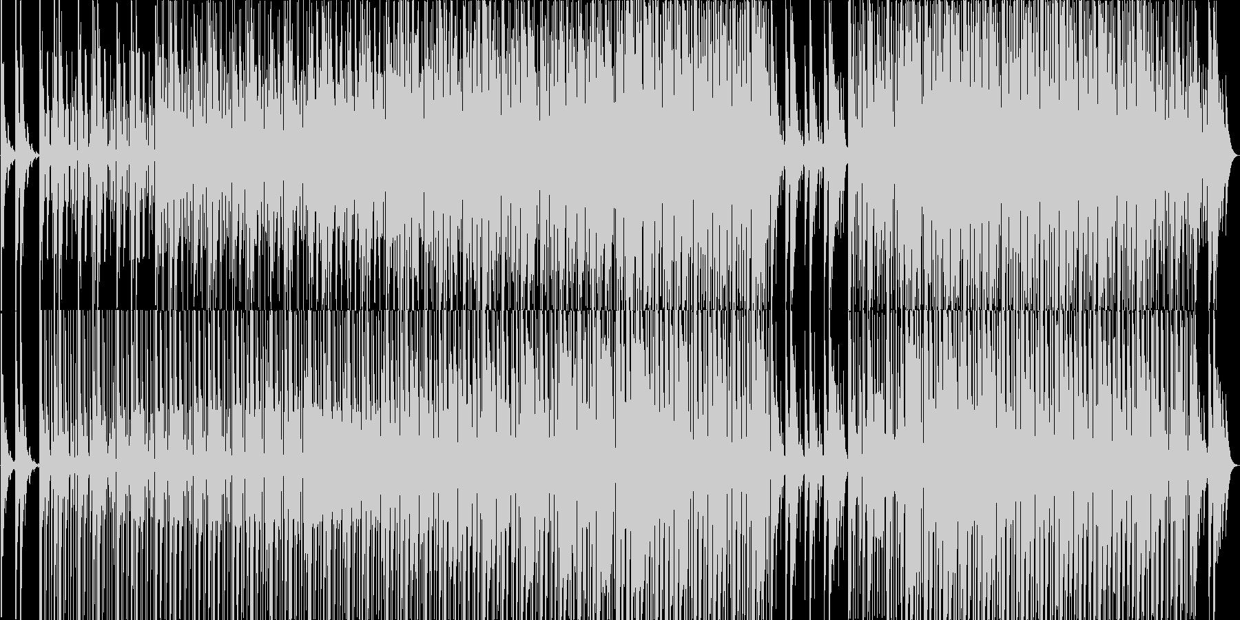 ゆったりやさしいエレクトロニカですの未再生の波形