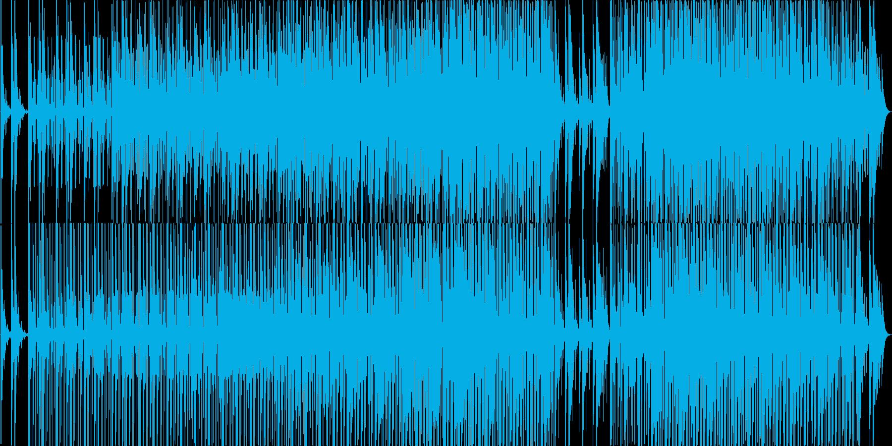 ゆったりやさしいエレクトロニカですの再生済みの波形