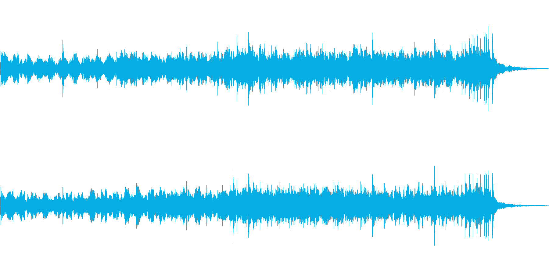 Soundtrack 4の再生済みの波形
