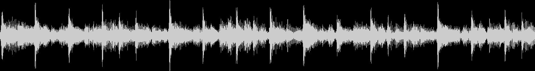 ファンキーで軽快なジングル_ループの未再生の波形