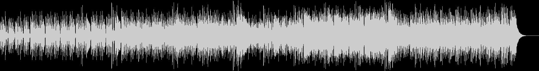 ピアノテクノミュージックの未再生の波形