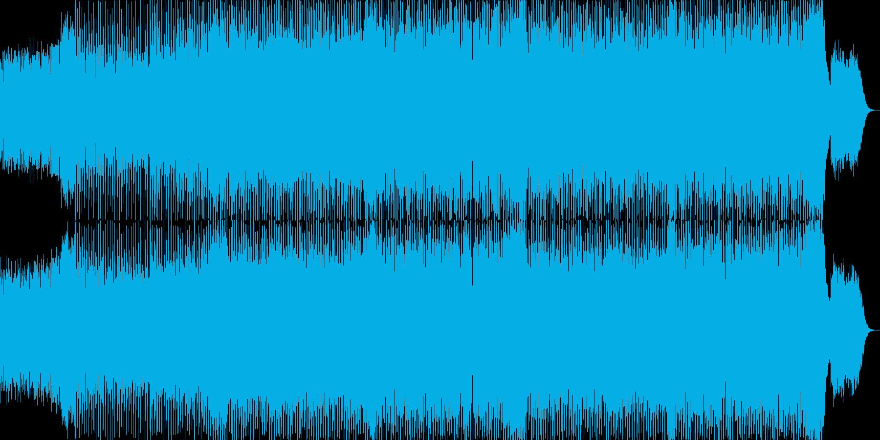 EDMポップで明るいクラブ系-62の再生済みの波形