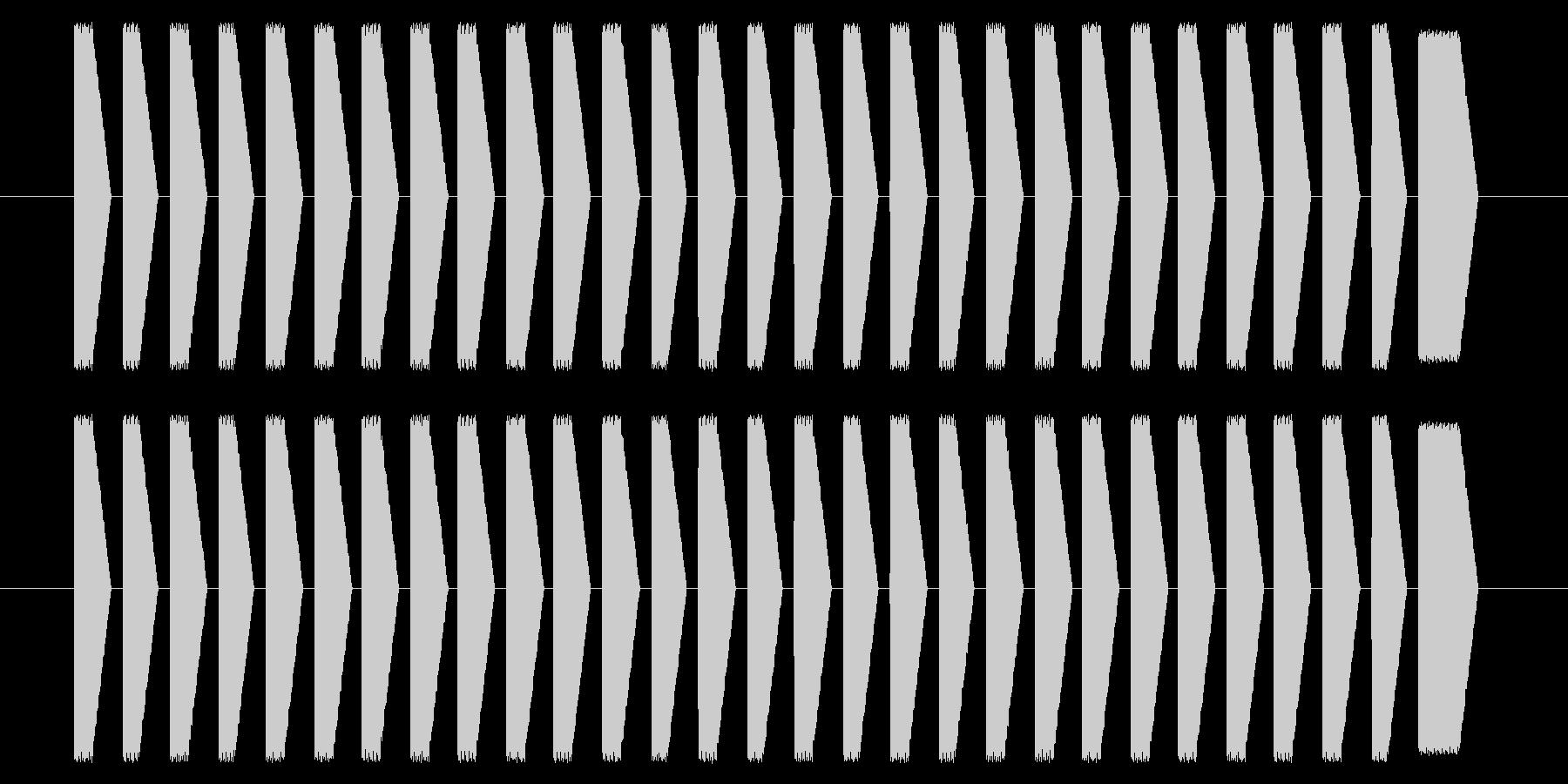 NES シューティング01-9(スコア)の未再生の波形