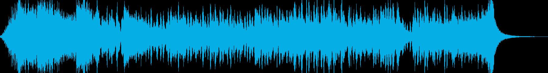 愉快なおもちゃのオーケストラマーチ風の再生済みの波形