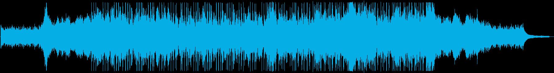 オープニング映像に合う爽やかなピアノ曲の再生済みの波形
