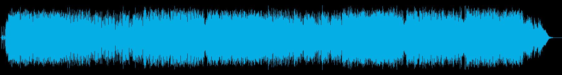 爽やかで軽快で煌びやかなエレキポップスの再生済みの波形