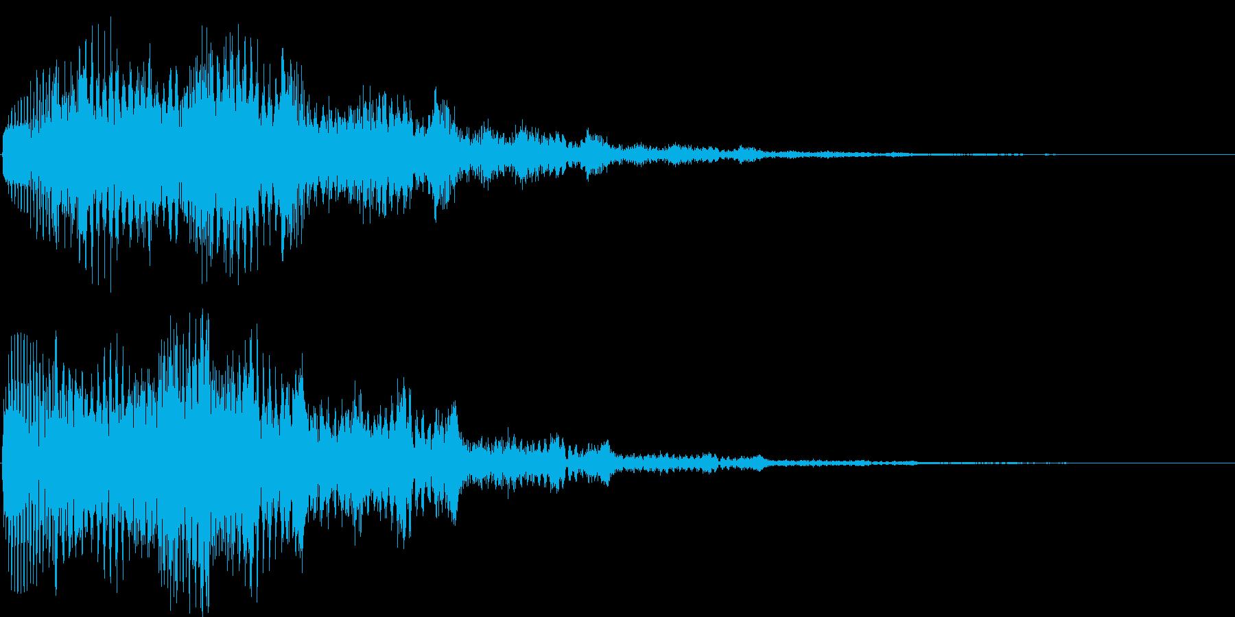 ビュオーン(ニュース、タイトル、)の再生済みの波形