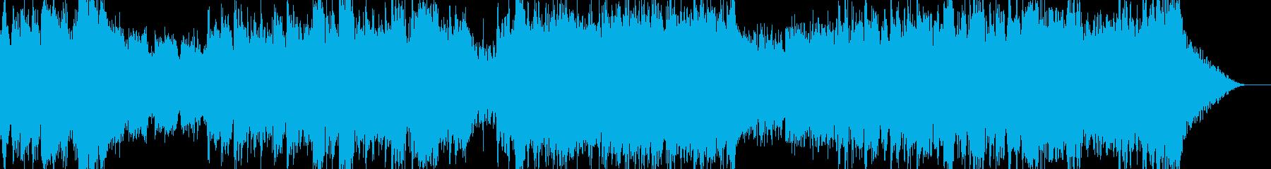 重々しいシーンに合うオーケストラBGMの再生済みの波形