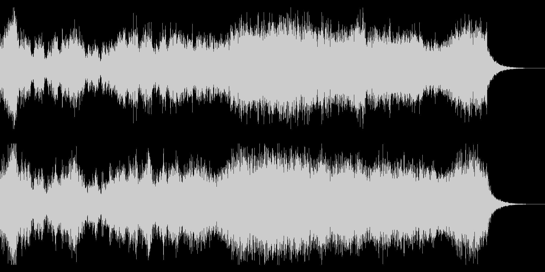 幻想的、ダークで重厚な合唱BGMの未再生の波形