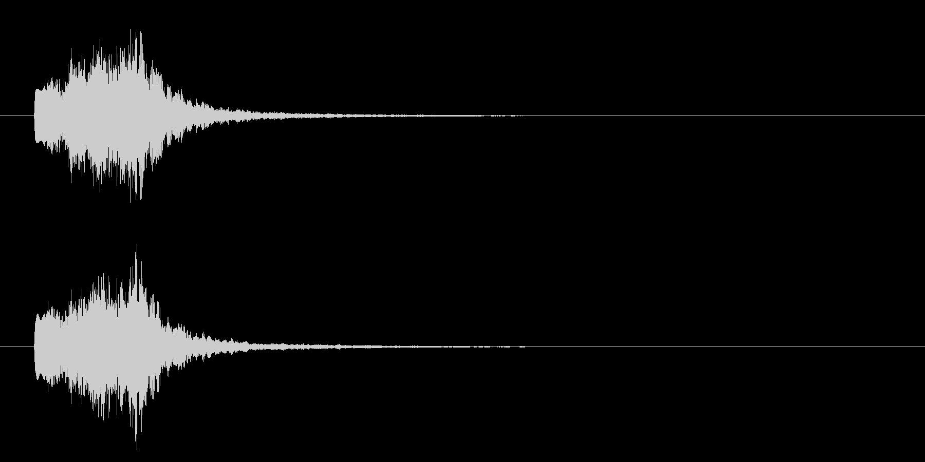 シンセBELLのグリスの未再生の波形