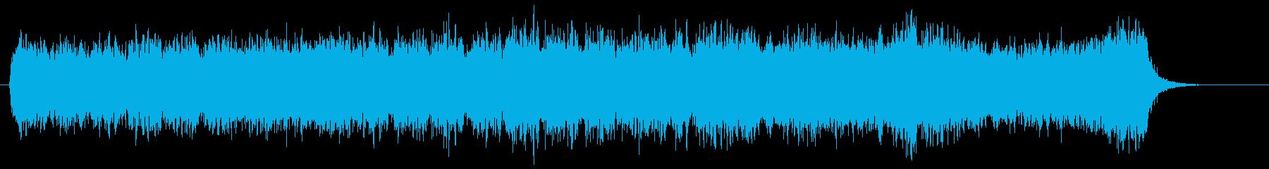 ウェディングで美しいクワイア/コーラスの再生済みの波形