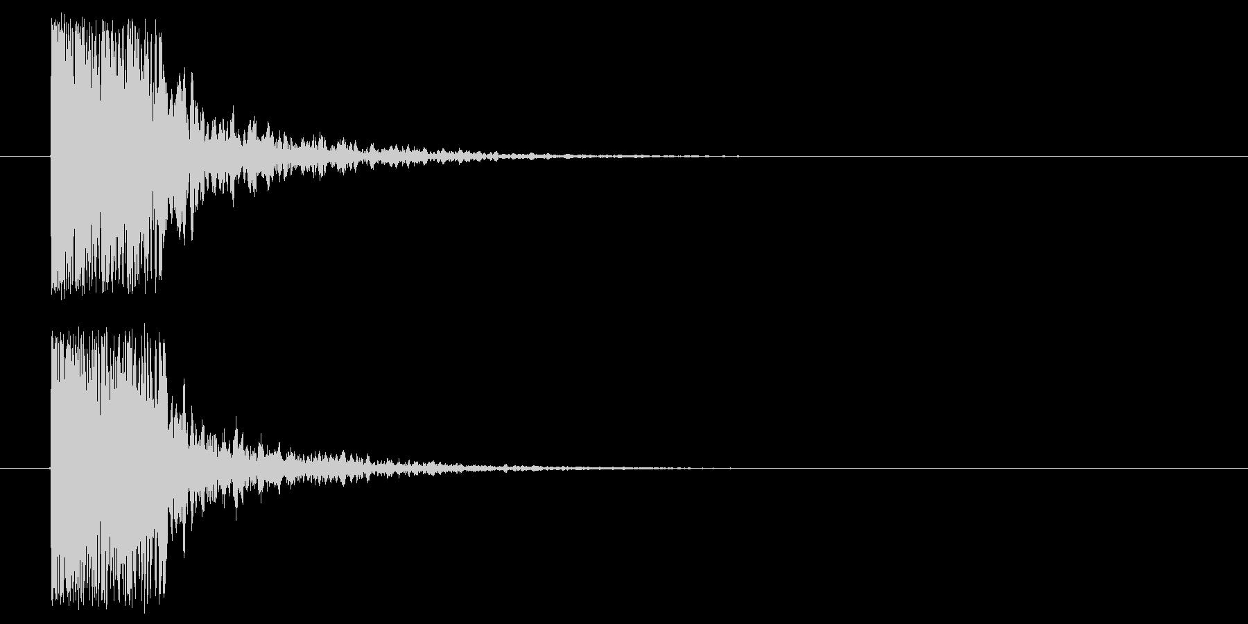 つづみ_和_場面展開の未再生の波形