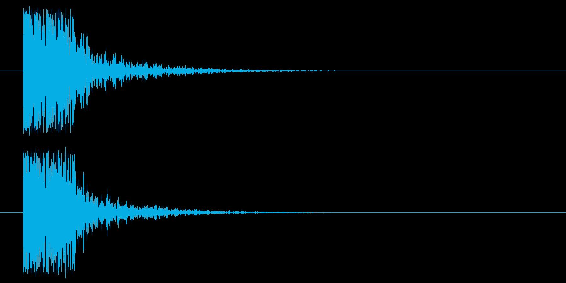 つづみ_和_場面展開の再生済みの波形