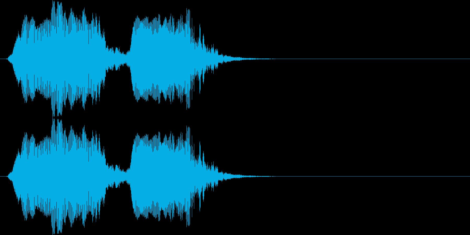 クイズ(幼児)の再生済みの波形