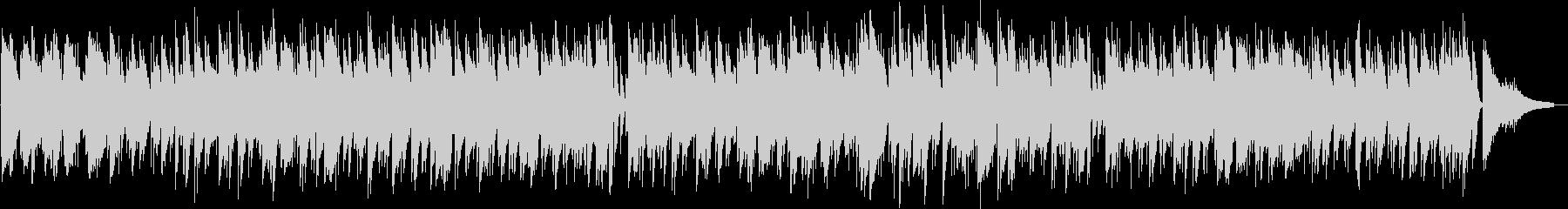 ムードあるイージーリスニング曲の未再生の波形