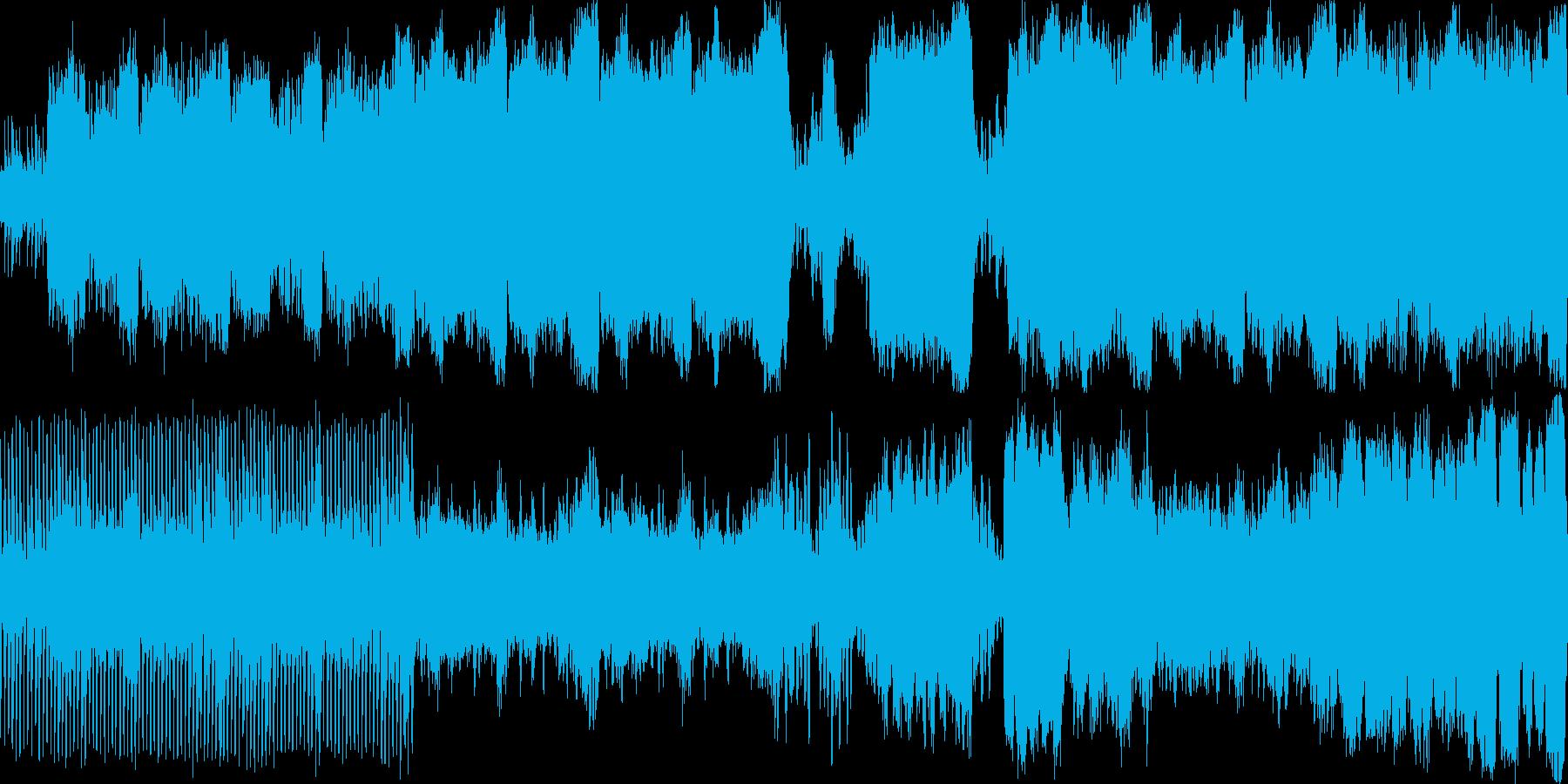 どこかの施設で催されている室内楽のコン…の再生済みの波形