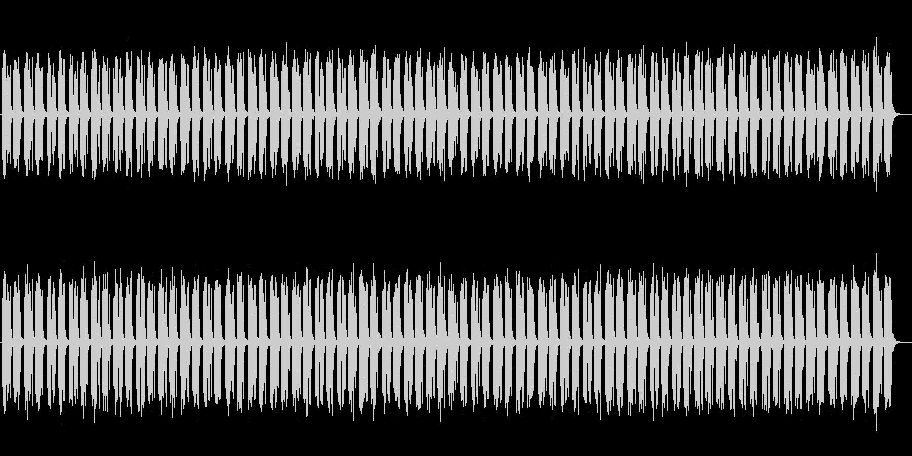 ファンタジーな木琴シンセサイザーサウンドの未再生の波形