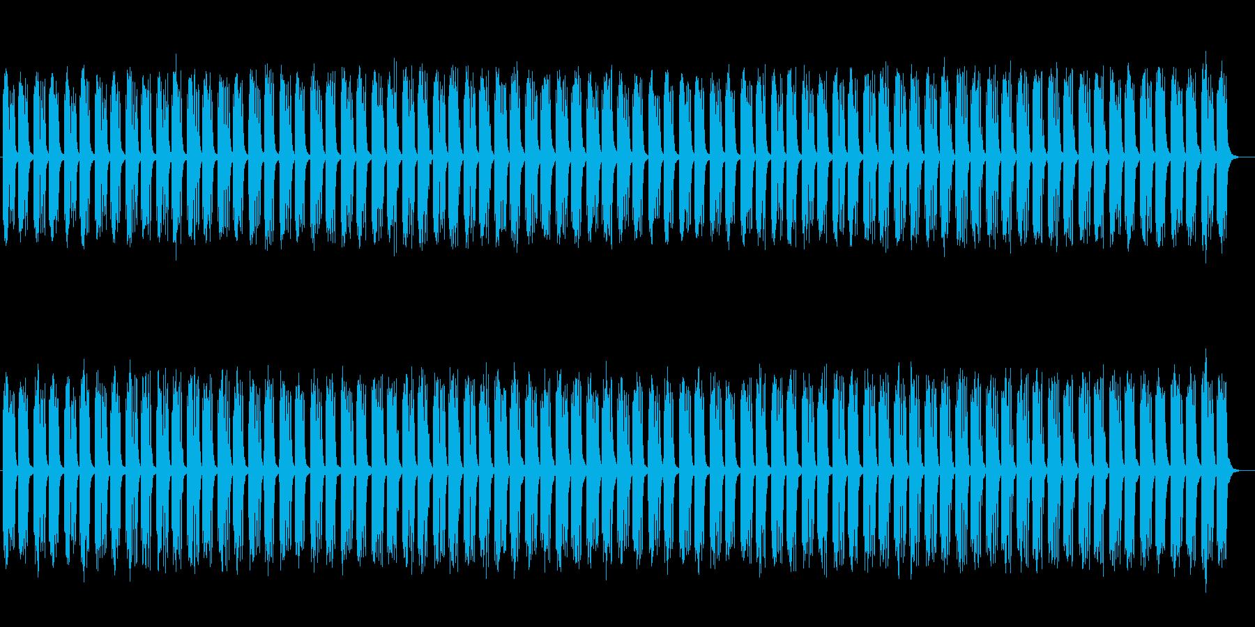 ファンタジーな木琴シンセサイザーサウンドの再生済みの波形