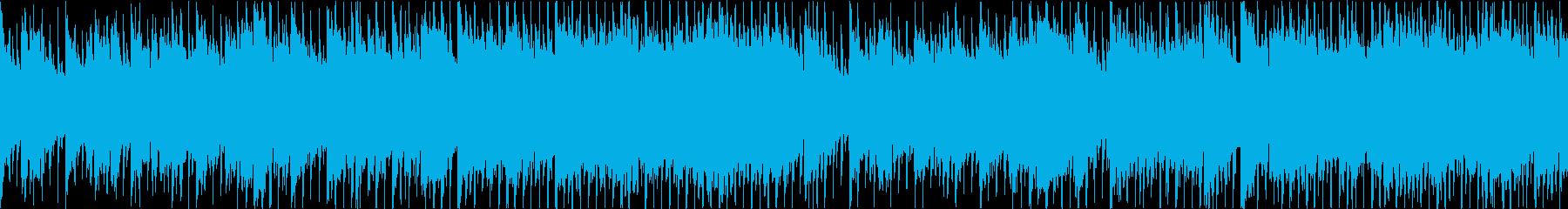 疾走感のあるお洒落なピアノハウスの再生済みの波形