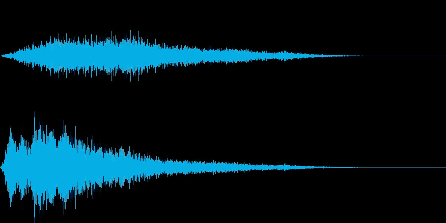 キラキラ-2 場面転換・登場などの再生済みの波形