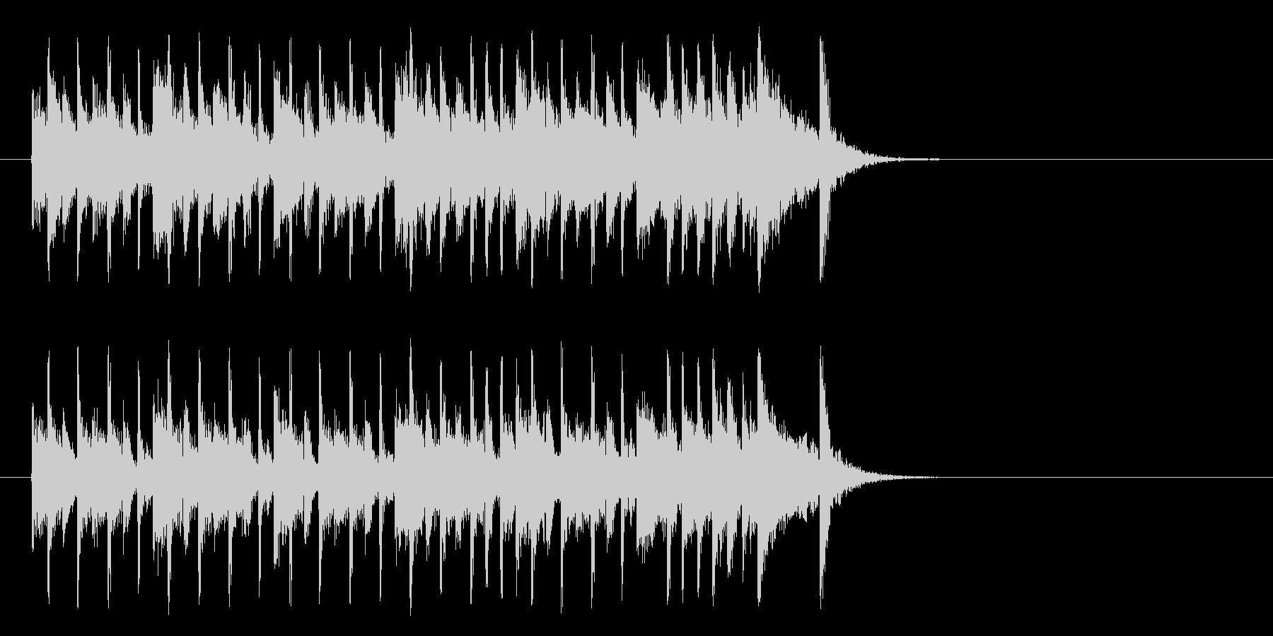 楽しいR&R/ポップ(イントロ)の未再生の波形