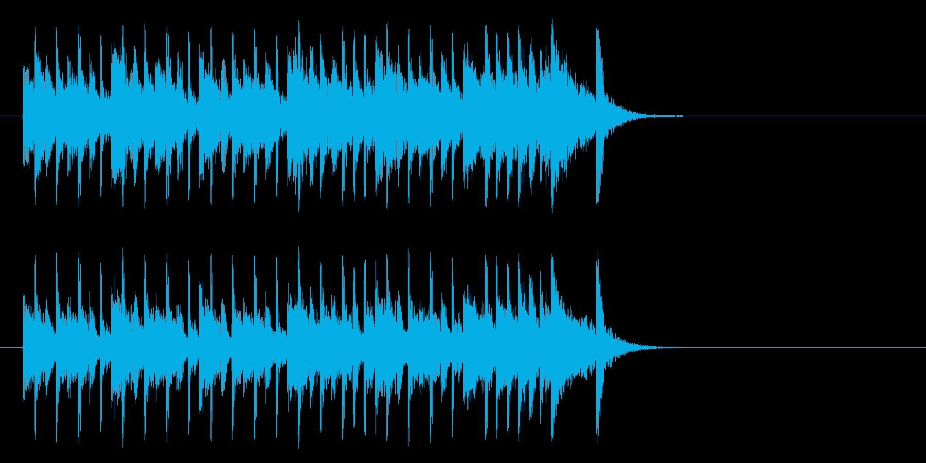楽しいR&R/ポップ(イントロ)の再生済みの波形