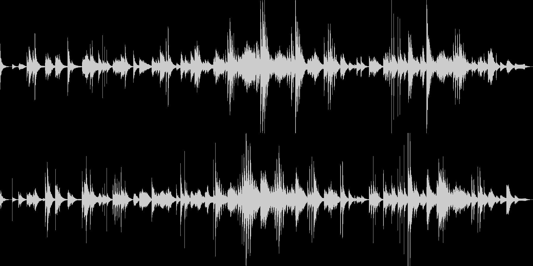 3分ソング 無調 ピアノ の未再生の波形