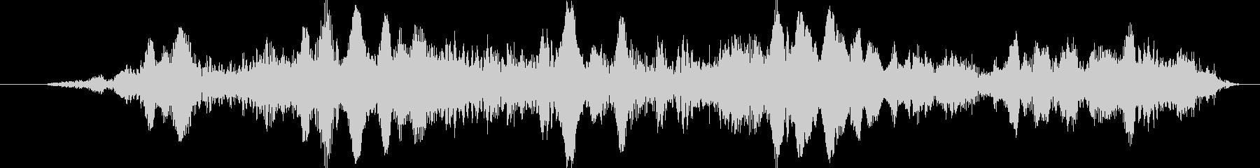 UFOキャッチャーっぽい音の未再生の波形