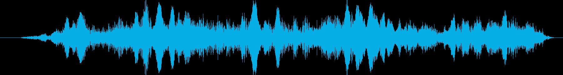 UFOキャッチャーっぽい音の再生済みの波形