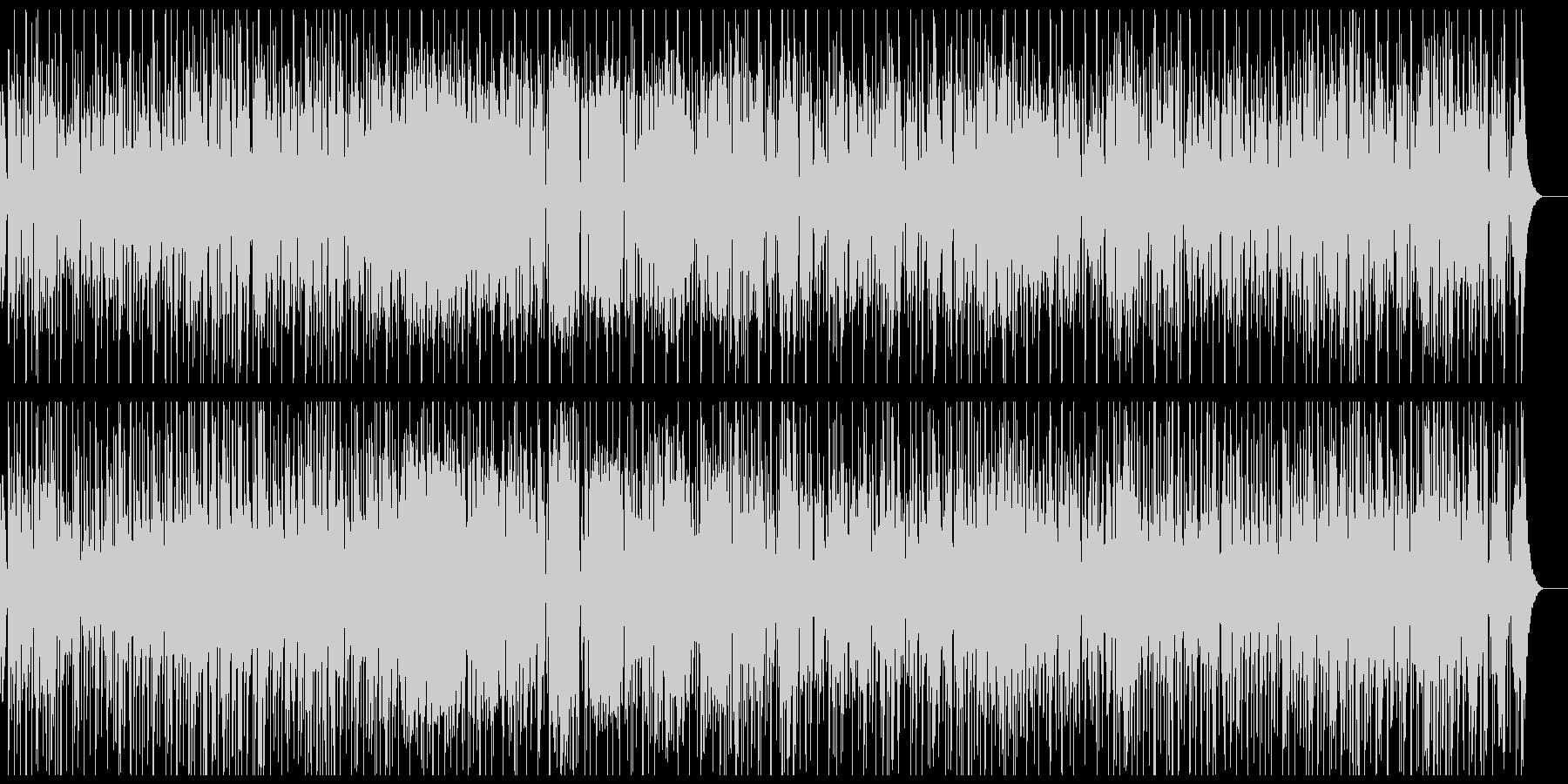 カラッと明るいレゲエの未再生の波形