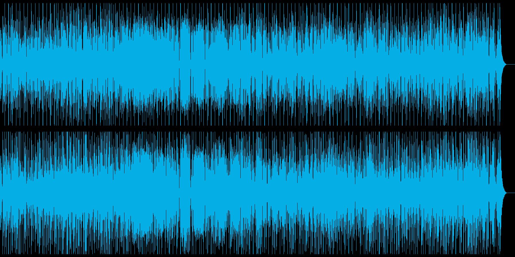 カラッと明るいレゲエの再生済みの波形