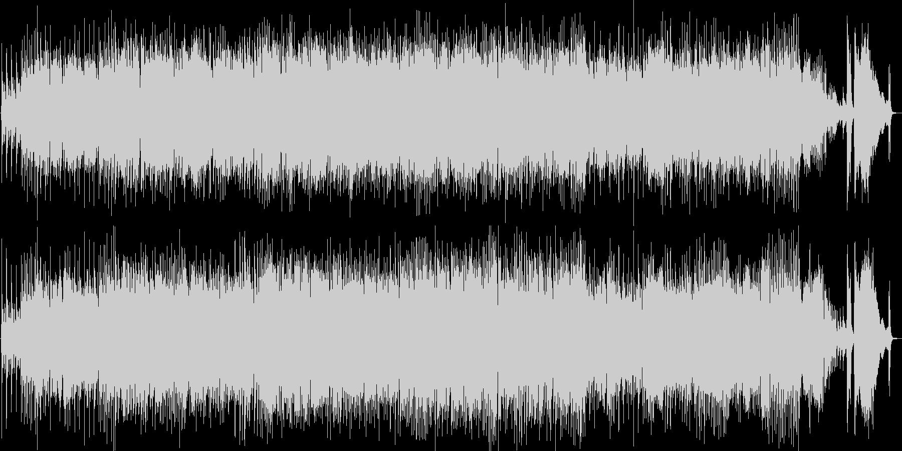 ショパン、ノクターン第2番、ジャズトリオの未再生の波形