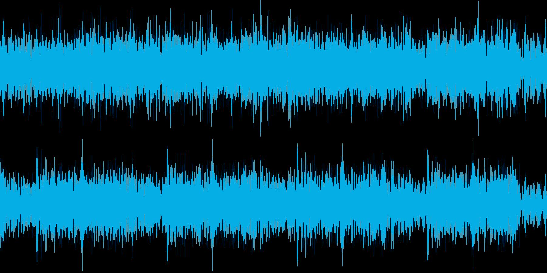 ブォォ..。炎・燃える音D(強・長)の再生済みの波形