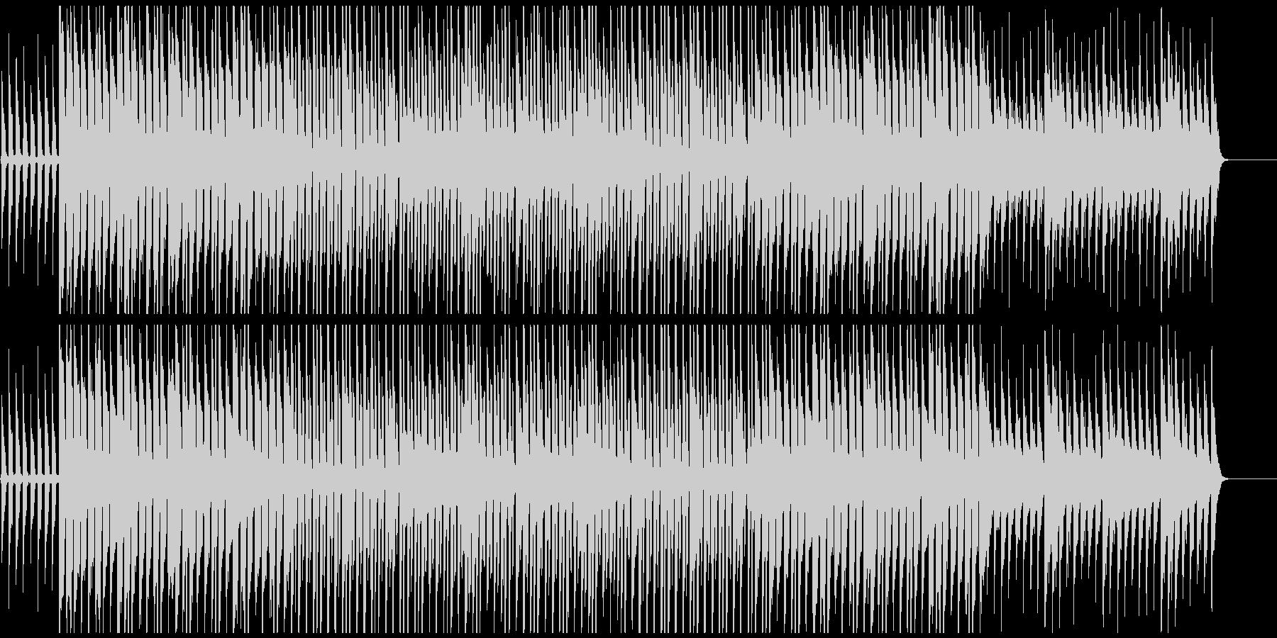 和やかな雰囲気のポップスの未再生の波形