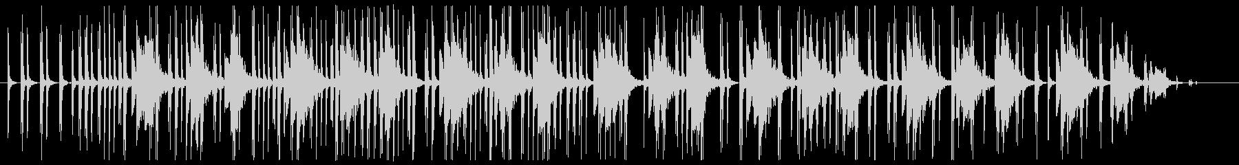 ピタゴラスイッチ的ミニマルでシンプル楽曲の未再生の波形