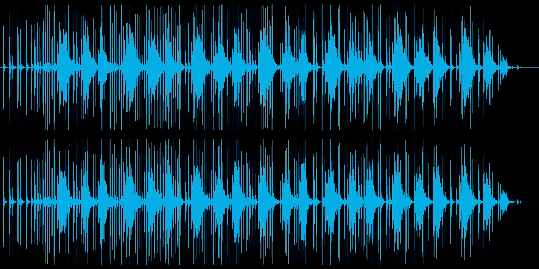 ピタゴラスイッチ的ミニマルでシンプル楽曲の再生済みの波形