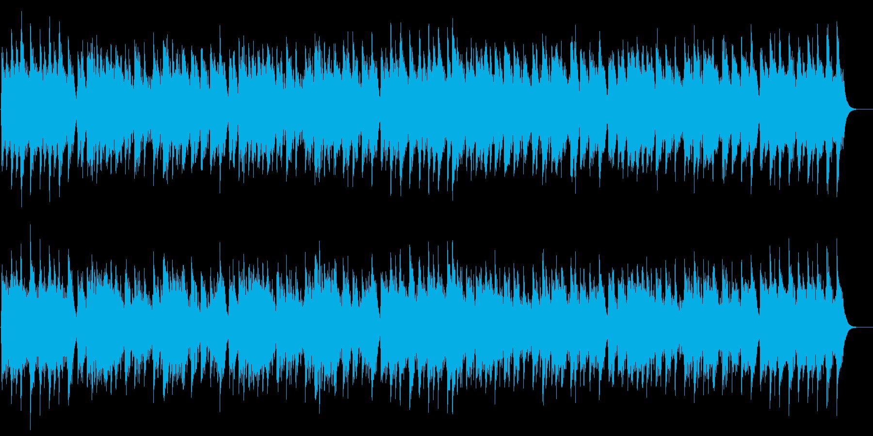 牛若丸の再生済みの波形