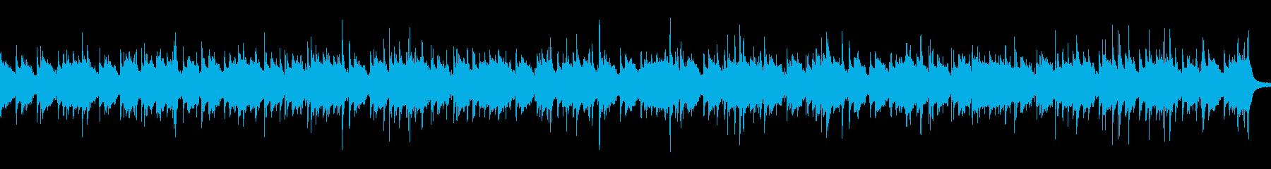 ジャズです。BGMに。の再生済みの波形