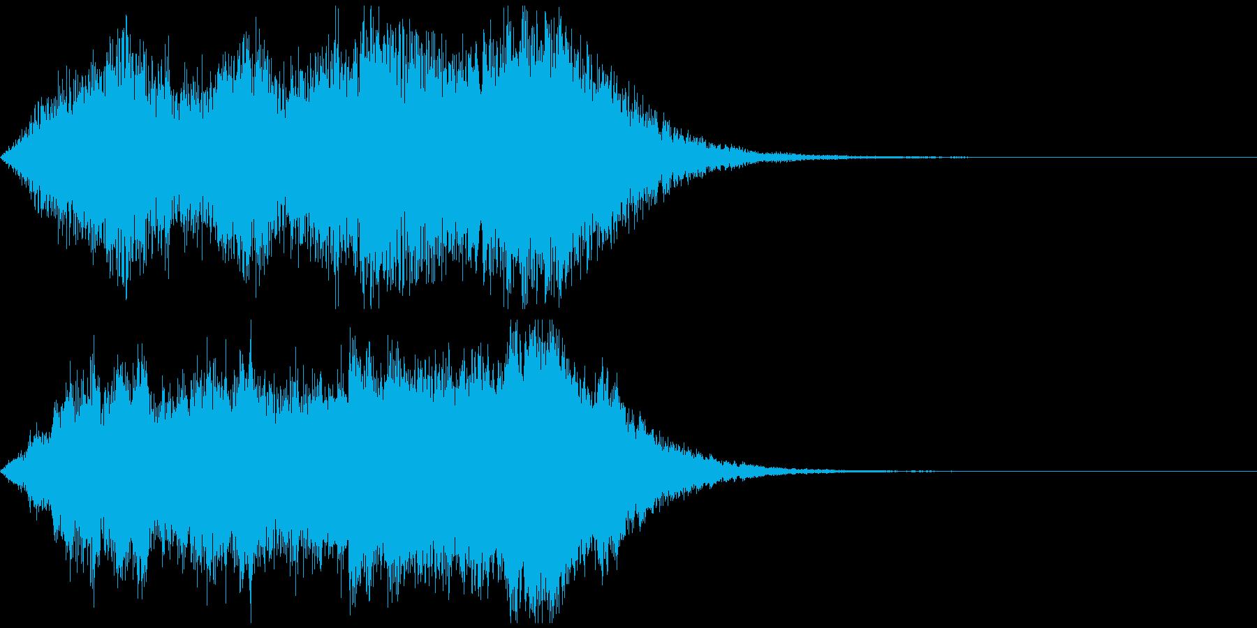 緊張感・迫り来るストリングスサウンドの再生済みの波形