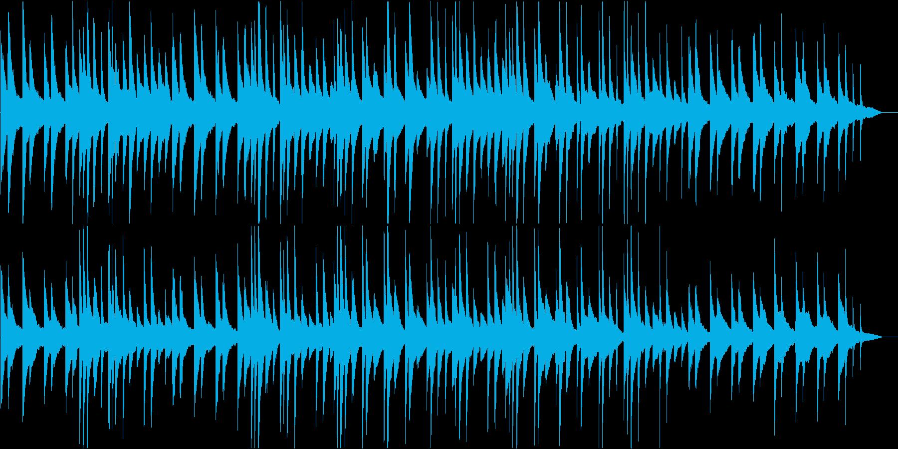 教会のような厳かなピアノソロBGMの再生済みの波形