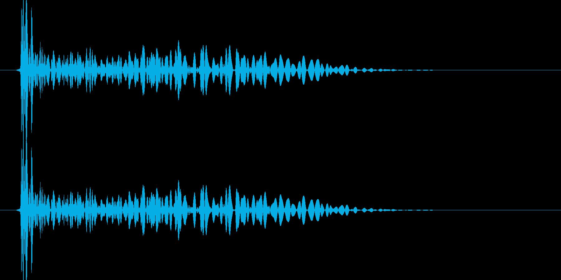 ぴゅーん!(コミカルタッチ発射音)の再生済みの波形